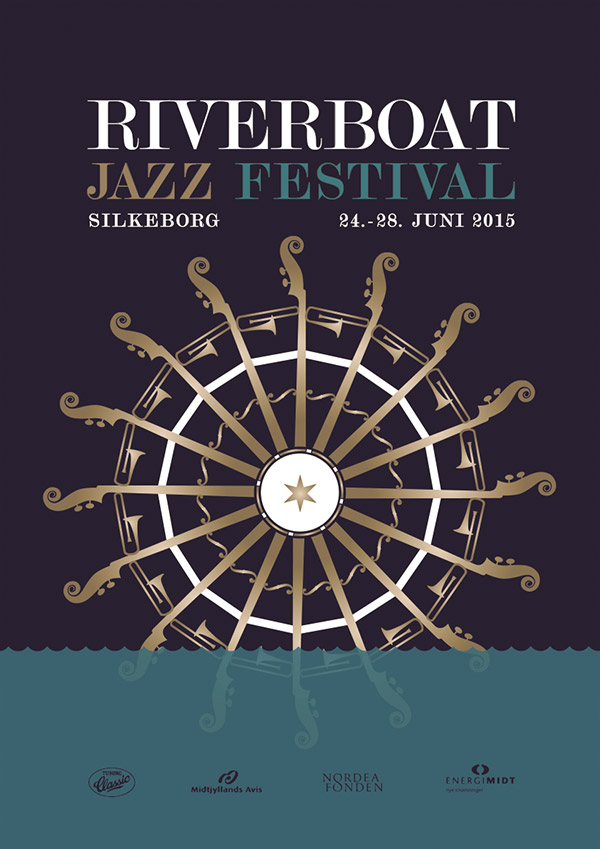 Plakat for Riverboat Festival 2015